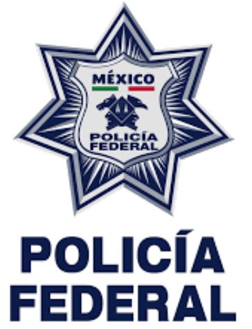 Policia federal de Mexico